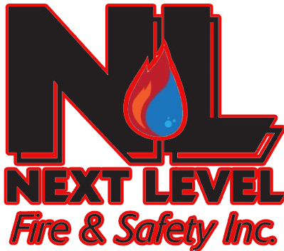 Next Level Fire & Safety, Logo
